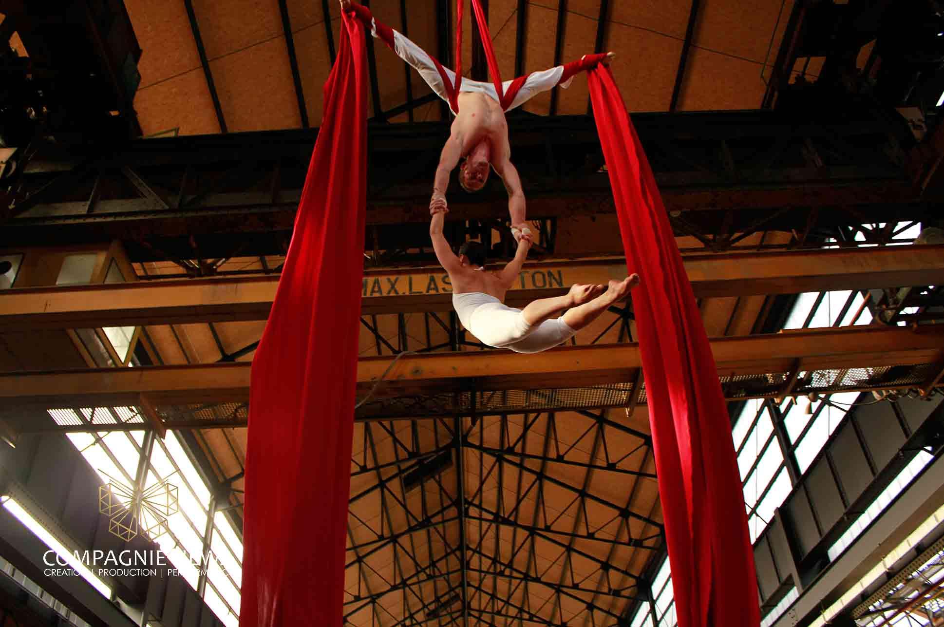 Compagnie_NEWA_tissu_silks_aerials_luchtacrobatiek